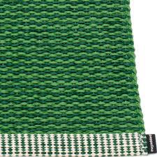 pappelina mono grass green dark green large rug