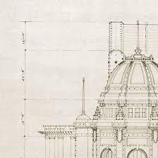 architectural drawings of buildings. Plain Buildings 410x410 Vintage Architectural Drawing U20acu201c Zinc Architecture To Architectural Drawings Of Buildings N