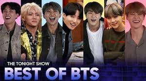 The Best of BTS on The Tonight Show (Vol. 1) - YouTube