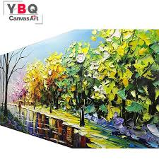 extra large wall paintings landscape