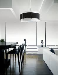 Design Hängelampe Pendelleuchte Stoff Schwarz Wohnzimmer Schlafzimmer Lampe