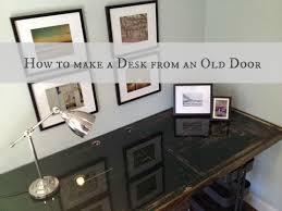 door to desk tutorial thedomesticlady