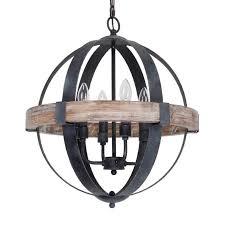 ceiling lights wood and steel chandelier chandeliers rustic round wood chandelier white wood bead
