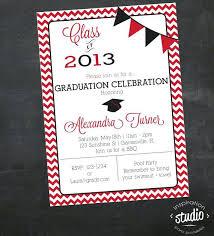 Create Graduation Invitation Online Design Own Graduation Announcements Graduate Invites Chic Customized