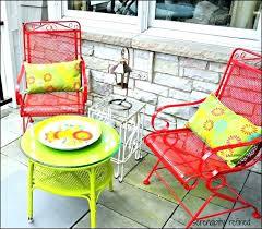 painting metal outdoor furniture best spray paint