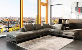 fascinating furniture for living room decoration using black and grey sectional sofa astonishing image of