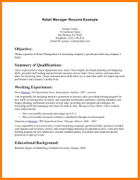 100 Retail Store Manager Resume Sample 100 Manager Resume