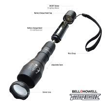 Tac Lights Bell Howell Taclight Led Flashlight With 5 Modes As Seen