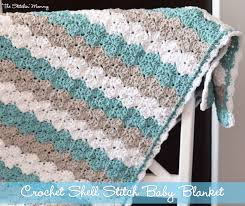 Easy Baby Blanket Crochet Patterns Simple Design