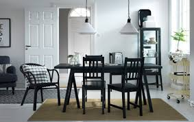 dining room cabinets ikea. a dining room with black table and chairs. combined beige trolley cabinets ikea t