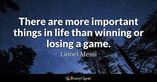 Inspirational Soccer Quotes Amazing Losing Quotes BrainyQuote