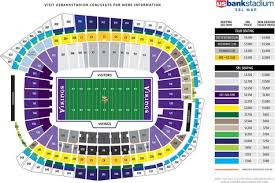 Metrodome Map Seating Chart And Tailgating Directions