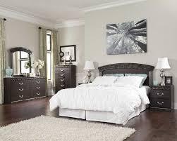 bedroom set main: queen bedroom set with mirror headboard