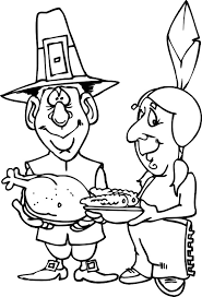 Small Picture Coloring Pilgrim And Indian Coloring SheetsPilgrimPrintable