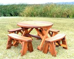 round picnic table large wood size of tables with umbrella india ada dim round picnic table