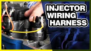 How To Tighten An Injector Wiring Harness Common Rail Injectors