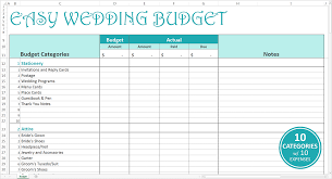 wedding budget excel template free wedding budget excel template savvy spreadsheets