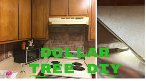 Kitchen Backsplash Diy Udiy Kitchen Backsplash 500 Dollar Tree 2017 Youtube