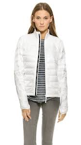 Lyst - Canada Goose Hybridge Lite Jacket in White