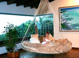 Image of: Bunk Bed Hammock Round