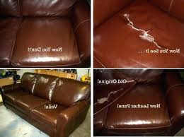 lovely how to repair leather sofa how to repair leather couch tear ides can you a a