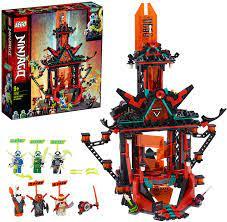 Lego 71712 NINJAGO Empire Tempel des Unsinns, Bauset mit 6 Minifiguren,  Ninja Spielzeug für Kinder: Amazon.de: Spielzeug