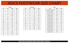 Onitsuka Tiger Size Chart Peninsula Conflict Resolution Center