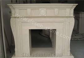 royal botticino marble stone fireplace design ideas hearth