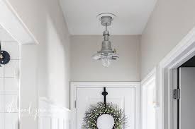 image hallway lighting. Updating Our Hallway Lighting Image