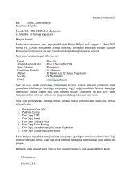 Apa cara termudah untuk melampirkan resume dan surat lamaran kerja melalui pesan email? 25 Contoh Surat Lamaran Kerja Yang Baik Dan Benar