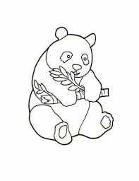 Small Picture Baby Panda Coloring Pages for Kids