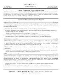 Planning Assistant Sample Resume Ha
