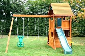 inexpensive swing set toys r us wooden swing outdoor swing sets installation tips for building backyard