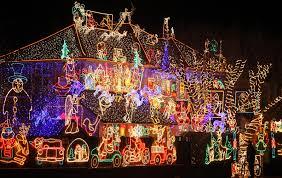 christmas lighting decoration. 20 Outdoor Christmas Light Decoration Ideas - Outside Lights Display Pictures Lighting T
