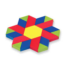 Pattern Blocks Gorgeous Plastic Pattern Blocks Classroom Kit Set of 4848 ETA hand48mind