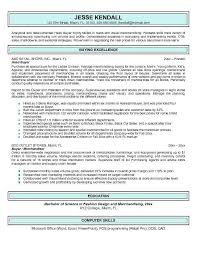fashion buyer resumes resume