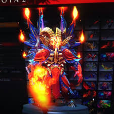 dota 2 fires of vashundol eg doom set ti5 games toys on carousell