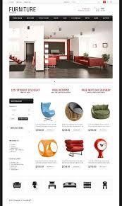 furniture websites design designer. Custom Website Design Template #44268 - Furniture Store Profile Company Designers Work Websites Designer