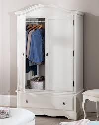 white wood wardrobe armoire shabby chic bedroom. ROMANCE White Bedroom Furniture, Bedside Table, Chest Of Drawers, Bed, Wardrobe | EBay Wood Armoire Shabby Chic T