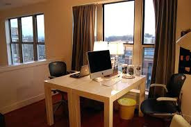 home office with two desks. Two Person Home Office Desk Desks Loft Modern  E Computer Home Office With Two Desks R