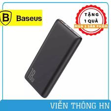 Pin sạc dự phòng baseus bipow qc 3.0 pd18w 10000mAh - pin sạc hỗ trợ sạc  nhanh cho iphone ipad - vienthonghn
