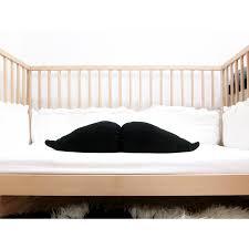 Mustache Baby Pillow
