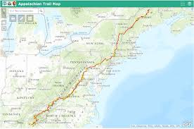 appalachian trail map  appalachian trail guide