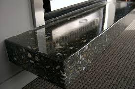 Concrete Hearth and Mantel Concrete Hearth black polished concrete hearth
