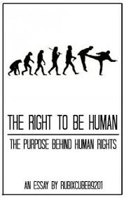 the right to be human the purpose behind human rights rubix  the right to be human the purpose behind human rights