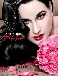 mac cosmetics teams up with dita von teese on a holiday makeup line
