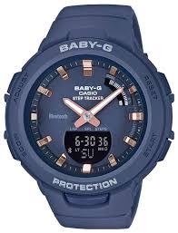 Наручные <b>часы CASIO BSA</b>-<b>B100</b>-<b>2A</b> — купить по выгодной цене ...