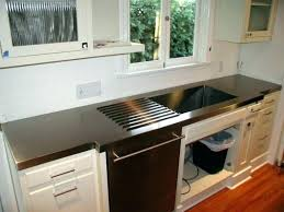 stainless steel count stainless steel countertop ikea as granite countertops cost
