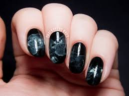 TUTORIAL: Midnight Smoke Nail Art Inspired by The Sorcerer Heir ...
