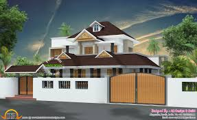 house compound wall designs in kerala house design
